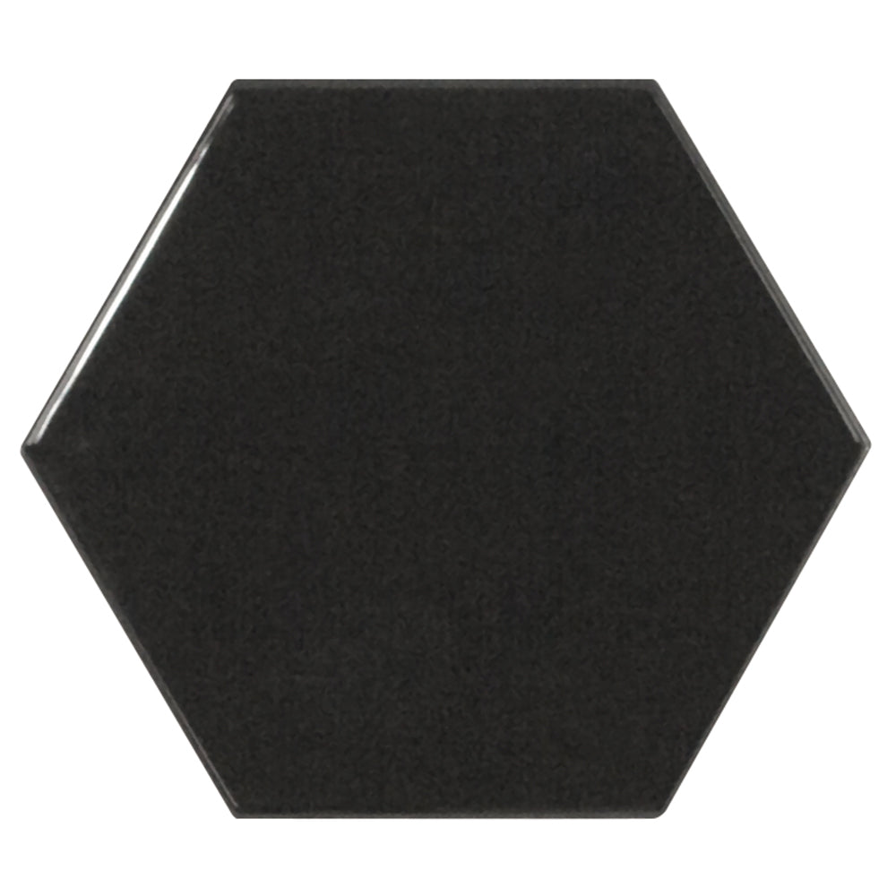 Viva ceramic hexagon tile 5x4 stone products unlimited inc ceramic hexagon tile 5x4 dailygadgetfo Image collections