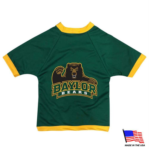 Baylor Bears Athletic Mesh Pet Jersey