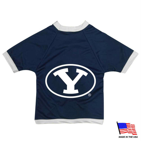 Brigham Young Cougars Athletic Mesh Pet Jersey