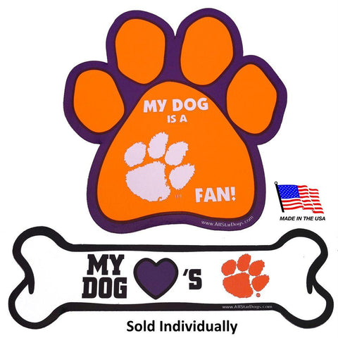 Clemson Tigers Car Magnets