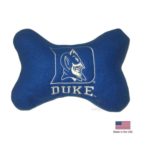 Duke Blue Devils Plush Bone Toy