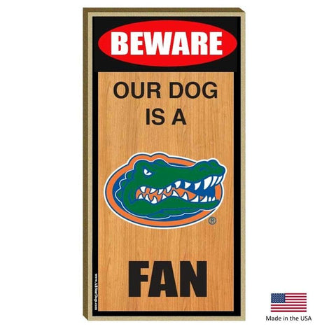 Florida Gators Wood Sign