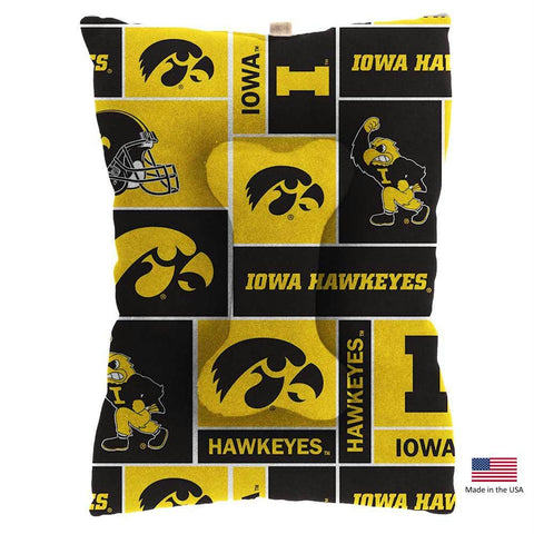 Iowa Hawkeyes Pet Slumber Bed
