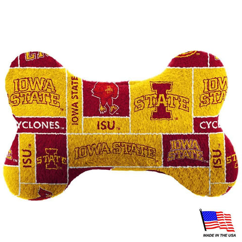 Iowa State Plush Bone Toy