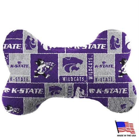 Kansas State Plush Bone Toy