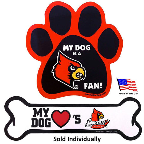 Louisville Cardinals Car Magnets