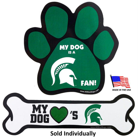 Michigan State Spartans Car Magnets