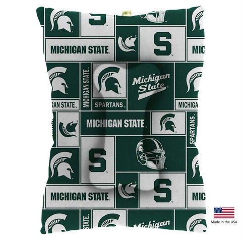 Michigan State Spartans Pet Slumber Bed