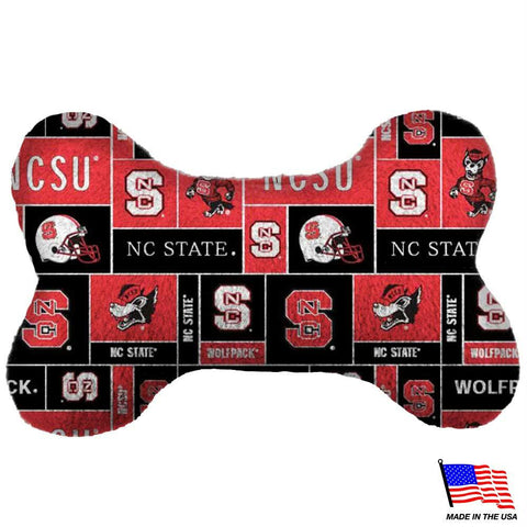 NC State Wolfpack Plush Bone Toy