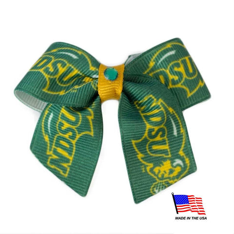 North Dakota State Pet Hair Bow