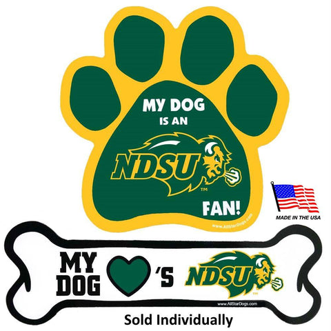 North Dakota State Car Magnets