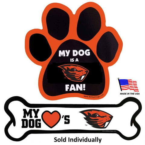 Oregon State Beavers Car Magnets