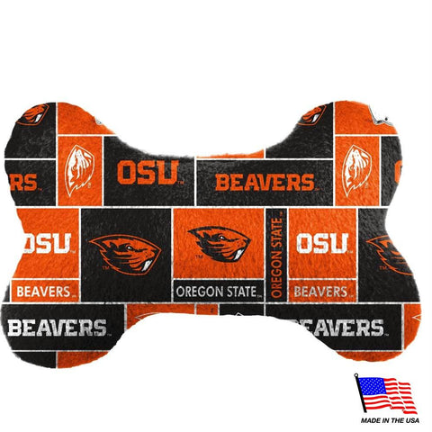 Oregon State Plush Bone Toy