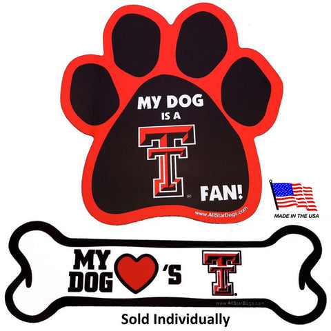 Texas Tech Car Magnets