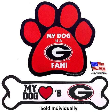Georgia Bulldogs Car Magnets