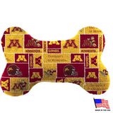 Minnesota Plush Bone Toy
