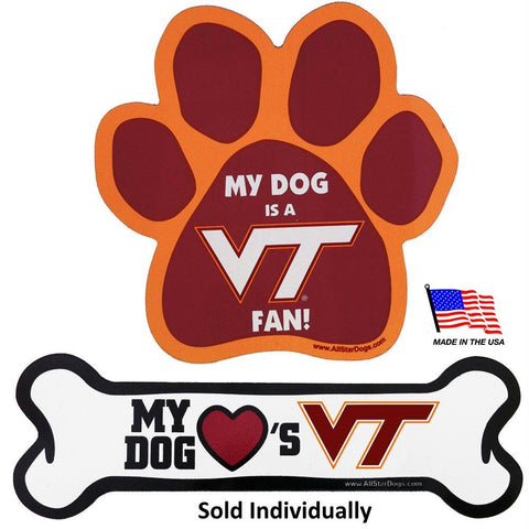 Virginia Tech Car Magnets