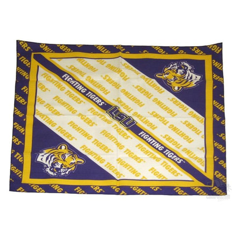 LSU Tigers Square Bandana