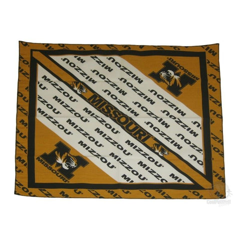 Missouri Tigers Square Bandana