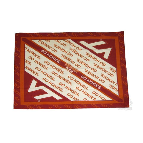 Virginia Tech Hokies Square Bandana