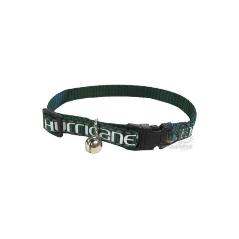 Miami Hurricanes Cat Safety Collar