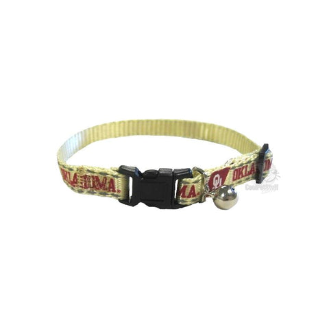 Oklahoma Sooners Cat Safety Collar