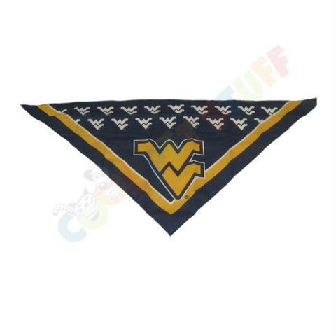 West Virginia Mountaineers Triangle Bandana