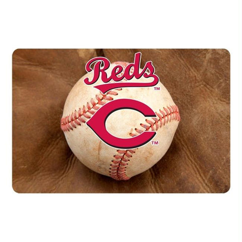 Cincinnati Reds Pet Bowl Mat