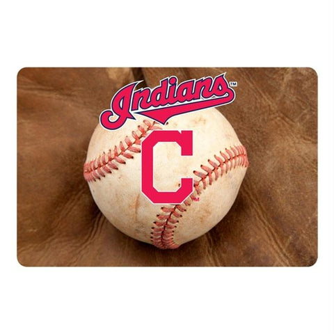 Cleveland Indians Pet Bowl Mat
