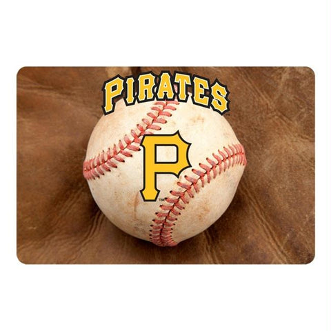 Pittsburgh Pirates Pet Bowl Mat
