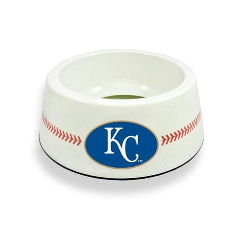 Kansas City Royals Classic Baseball Pet Bowl