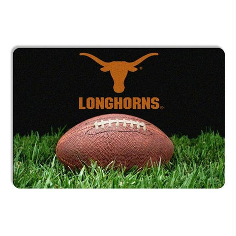 Texas Longhorns Classic Football Pet Bowl Mat