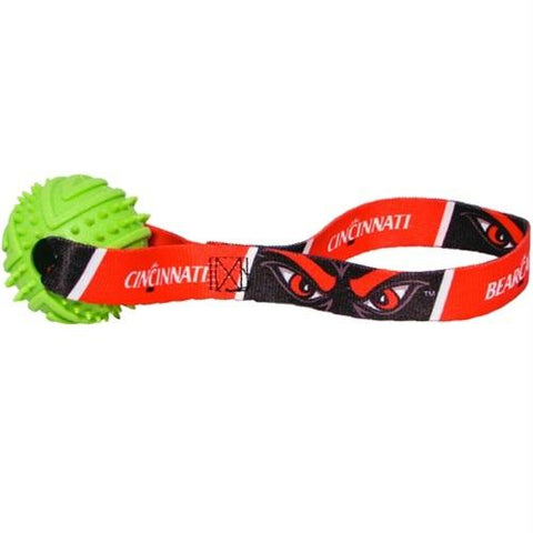 Cincinnati Bearcats Rubber Ball Toss Toy