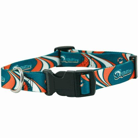 Miami Dolphins Dog Collar - Small