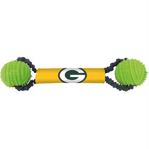 Green Bay Packers Double Bungee Tug-N-Toss Toy