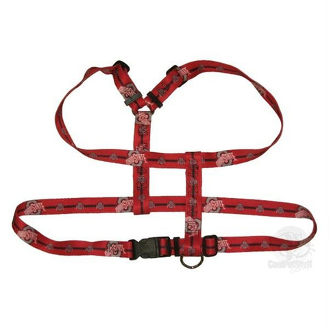Ohio State Buckeyes Pet Harness - Small