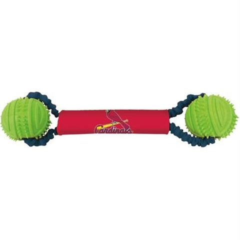 St. Louis Cardinals Double Bungee Tug-N-Toss Toy