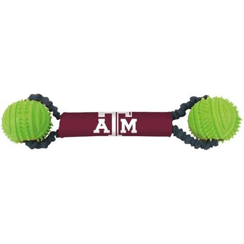 Texas A&M Aggies Double Bungee Tug-N-Toss Toy