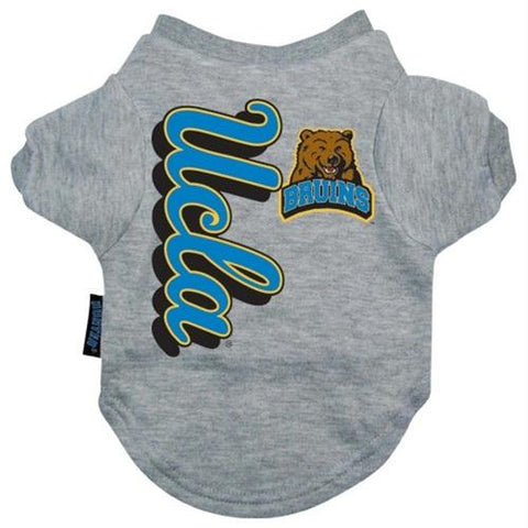 UCLA Bruins Heather Grey Pet T-Shirt