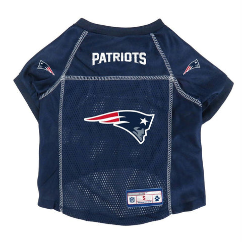 New England Patriots Pet Mesh Jersey