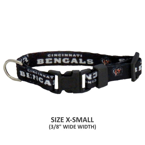 Cincinnati Bengals Pet Nylon Collar - Large