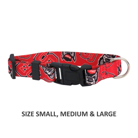 NC State Wolfpack Pet Nylon Collar - Medium