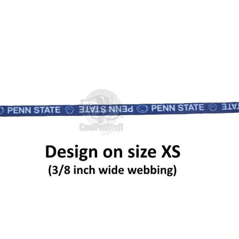 Penn State Nittany Lions Pet Nylon Collar - Small
