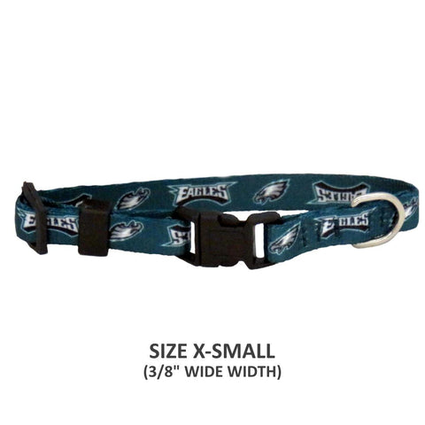 Philadelphia Eagles Pet Nylon Collar - Medium