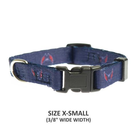 Washington Capitals Pet Nylon Collar - XS