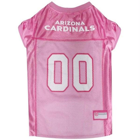 Arizona Cardinals Pink Pet Jersey