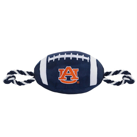 Auburn Tigers Pet Nylon Football