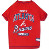 Atlanta Braves Pet T-shirt - XL