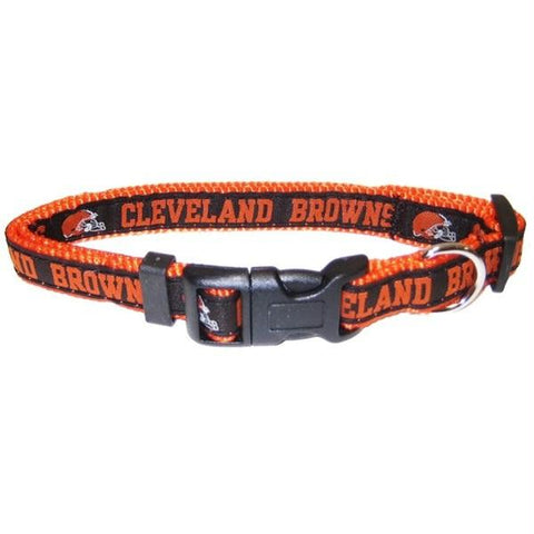 Cleveland Browns Pet Collar by Pets First - XL