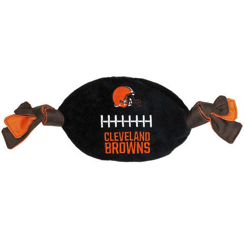Cleveland Browns Flattie Crinkle Football